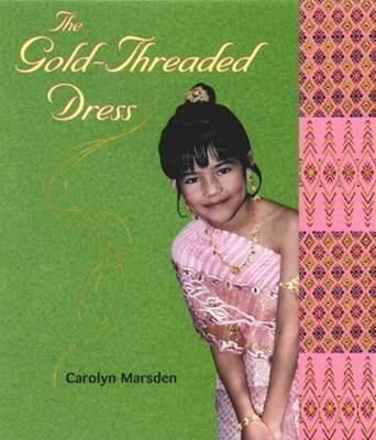 Gold Threaded Dress by Marsden image