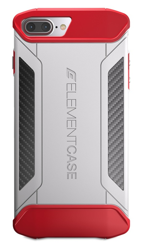 Element: CFX Reinforced Case - For iPhone 7 Plus (Red/White)
