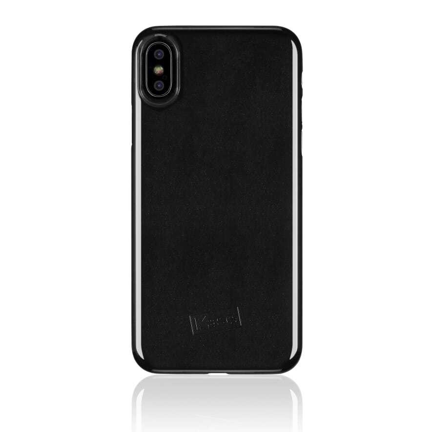 Kase Go Original iPhone X Slim Case- Black Magic image