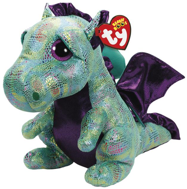 Ty Beanie Boo: Cinder Dragon - Medium Plush