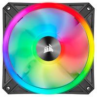 120mm CORSAIR iCUE QL120 RGB PWM Triple Fan Pack with Lighting Node CORE