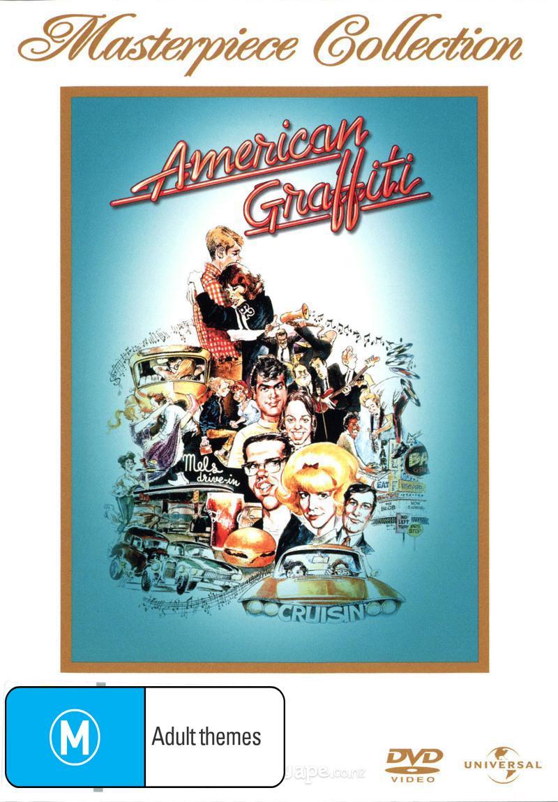 American Graffiti on DVD image