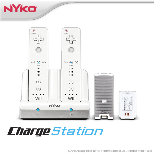 Nyko Charge Station for Nintendo Wii image