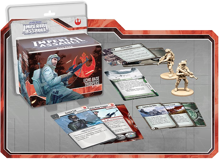 Star Wars: Imperial Assault: Echo Base Troopers Ally Pack image
