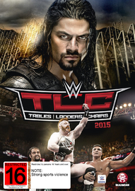 WWE - TLC: Tables, Ladders & Chairs 2015 on DVD