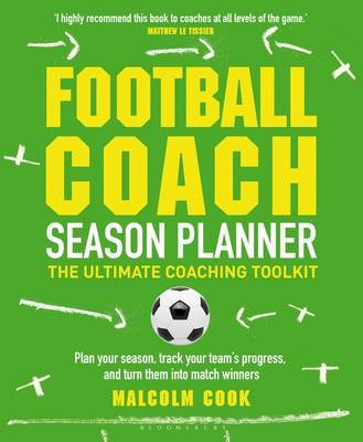 Football Coach Season Planner by Malcolm Cook image