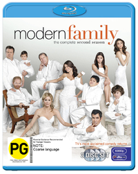 Modern Family - The Complete Second Season on Blu-ray