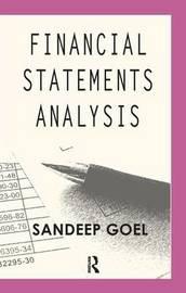 Financial Statements Analysis by Sandeep Goel