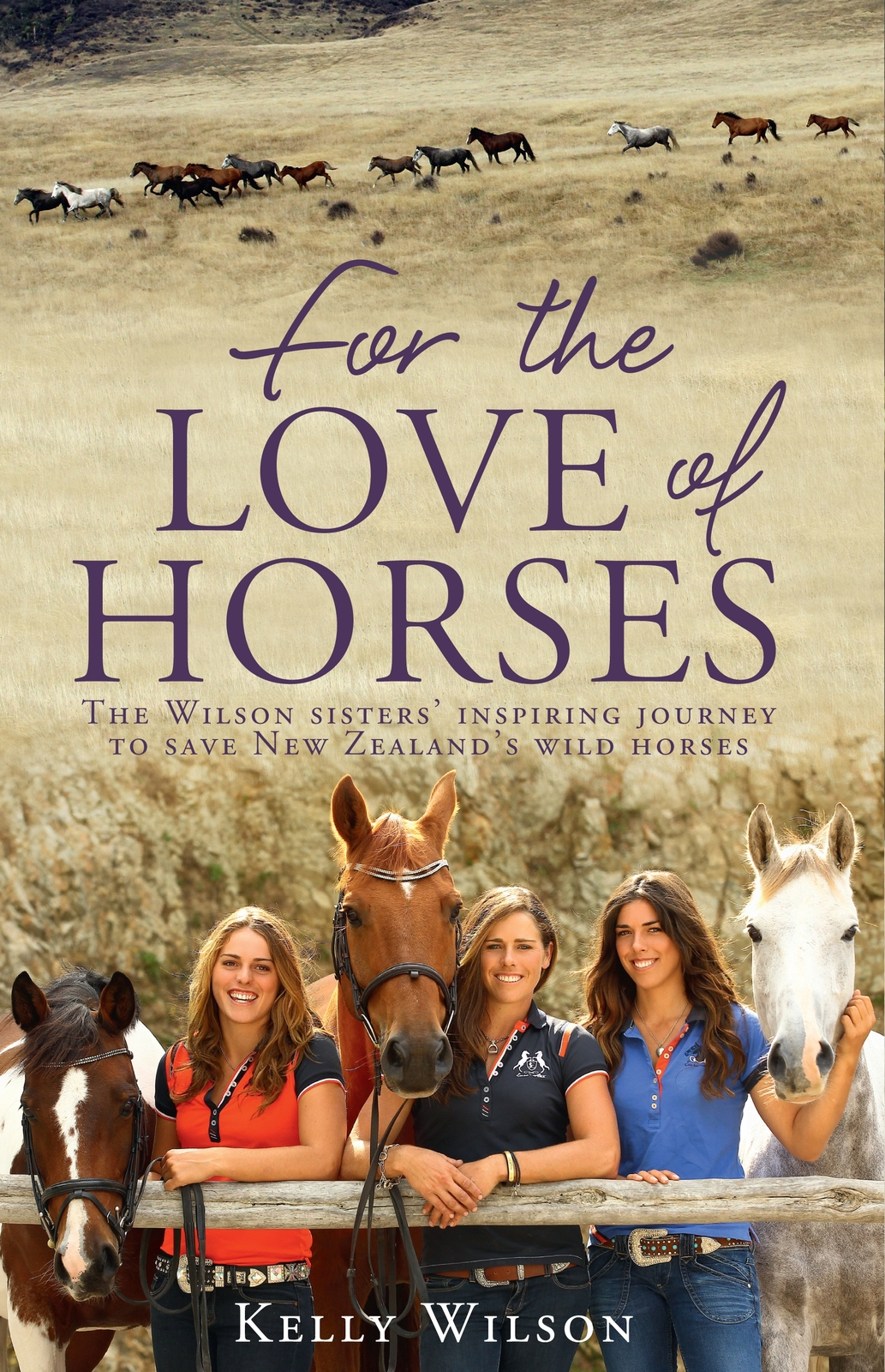 For the Love of Horses by Kelly Wilson image