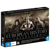 European History Collection on DVD