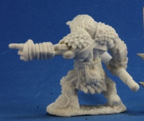 Dark Heaven Bones - Rugg Bugbear Leader Pointing image
