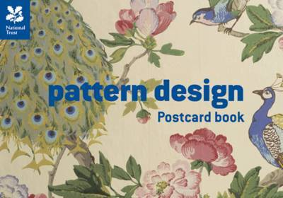 Pattern Design Postcard Book by National Trust