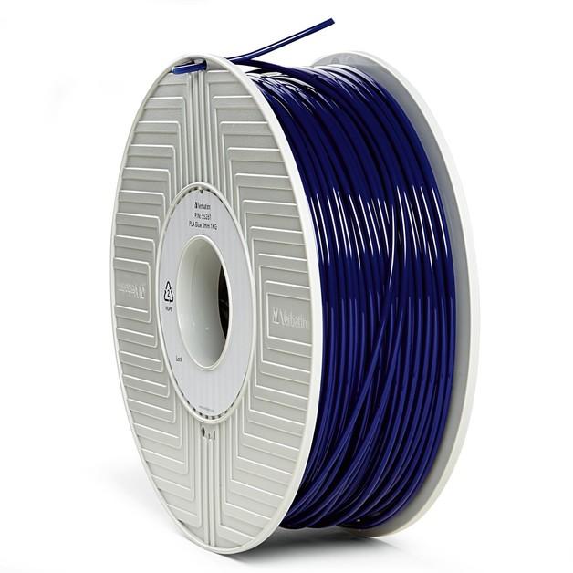 Verbatim 3D Printer PLA 3.00mm Filament - 1kg Reel (Blue)
