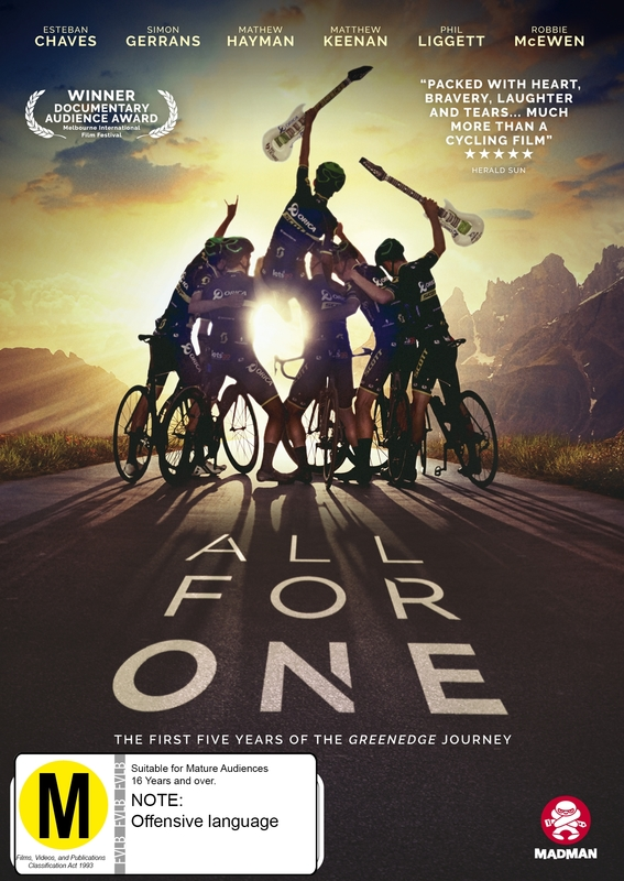 All For One on DVD