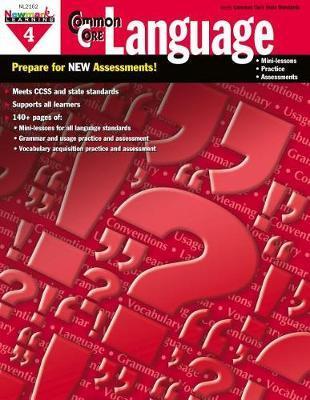 Common Core Practice Language Grade 4