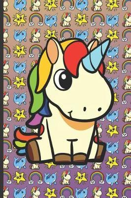 Unicorn Narwhal Rainbow and Stars Notebook by Janice H McKlansky Publishing