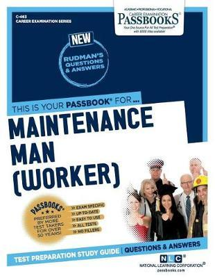 Maintenance Man (Worker) by National Learning Corporation
