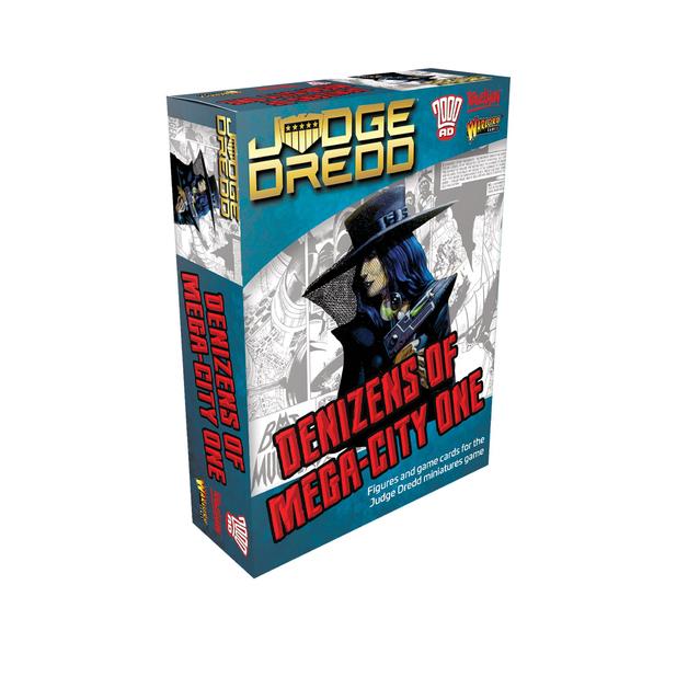 Judge Dredd: Denizens of Mega City 1