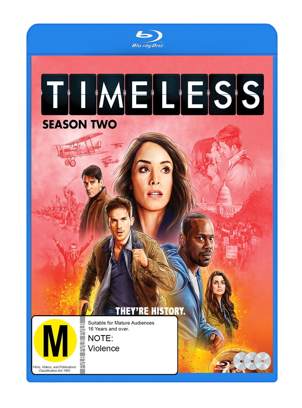 Timeless - Season 2 on Blu-ray