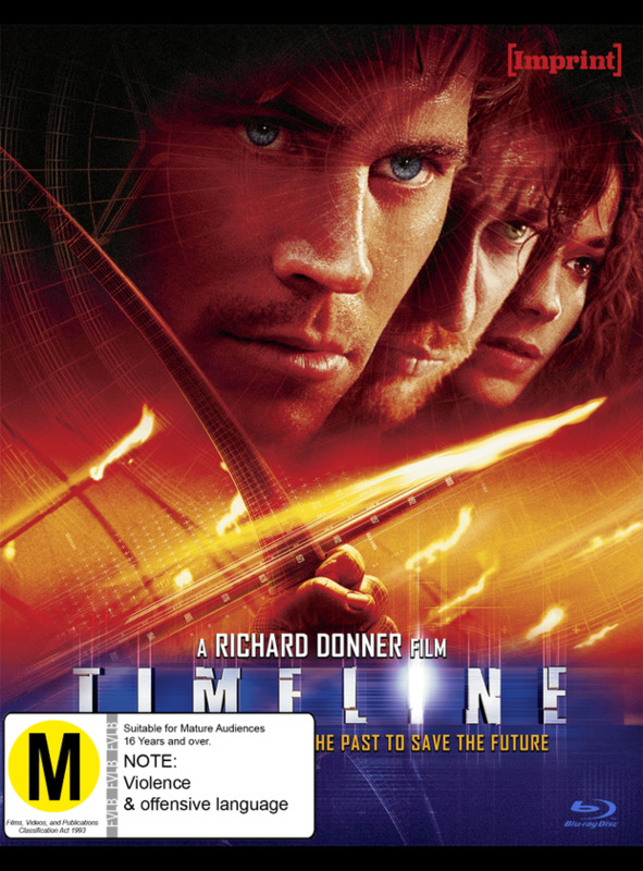 Timeline (Imprint Collection #40) on Blu-ray