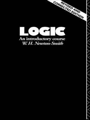 Logic by W.H. Newton-Smith image