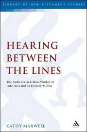 Hearing Between the Lines by Kathy Maxwell image