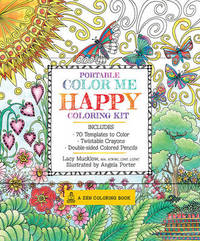 Portable Color Me Happy Coloring Kit by Lacy Mucklow