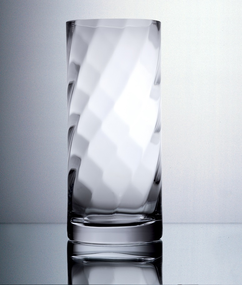 Krosno Silhouette Cylinder Vase 30cm At Mighty Ape Australia