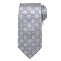 Star Wars: Darth Vader & Stormtrooper - Grey Mens Silk Tie