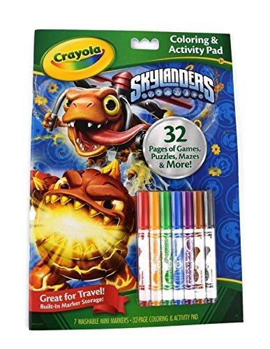 Crayola: Coloring & Activity Pad - Skylanders | Toy | at Mighty Ape ...