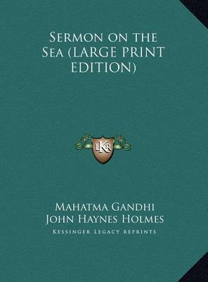 Sermon on the Sea by Mahatma Gandhi