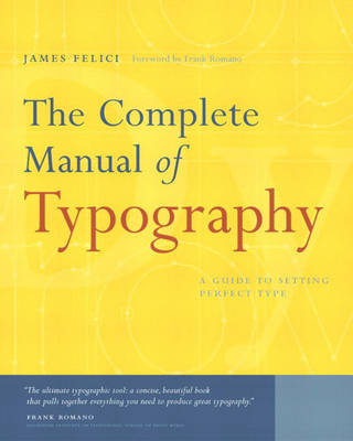 The Complete Manual of Typography by Jim Felici image