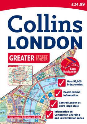 Greater London Street Atlas image