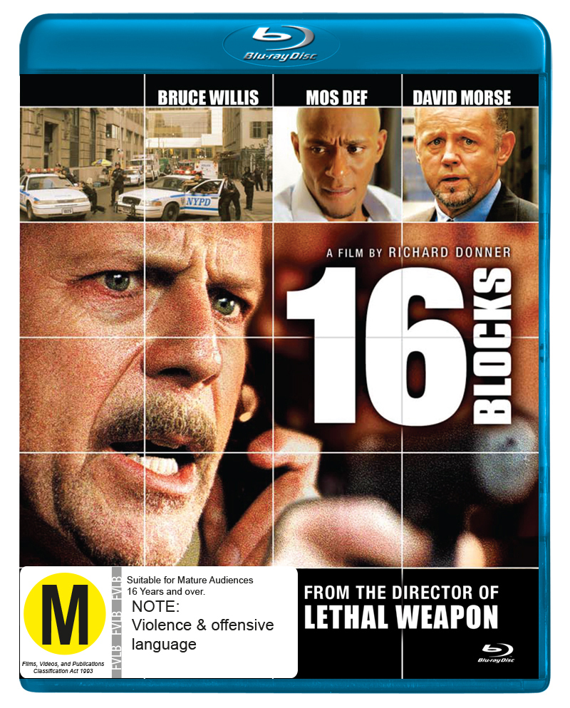 16 Blocks on Blu-ray image