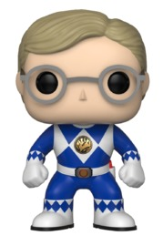 Power Rangers - Blue Ranger (Unmasked) Pop! Vinyl Figure