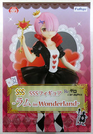 Re:Zero SSS Figure Ram in wonderland - PVC Figure