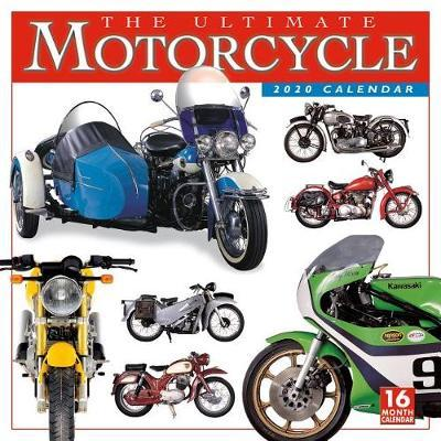 The Ultimate Motorcycle 2020 Square Wall Calendar by DK Publishing