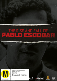 The Rise & Fall Of Pablo Escobar on DVD