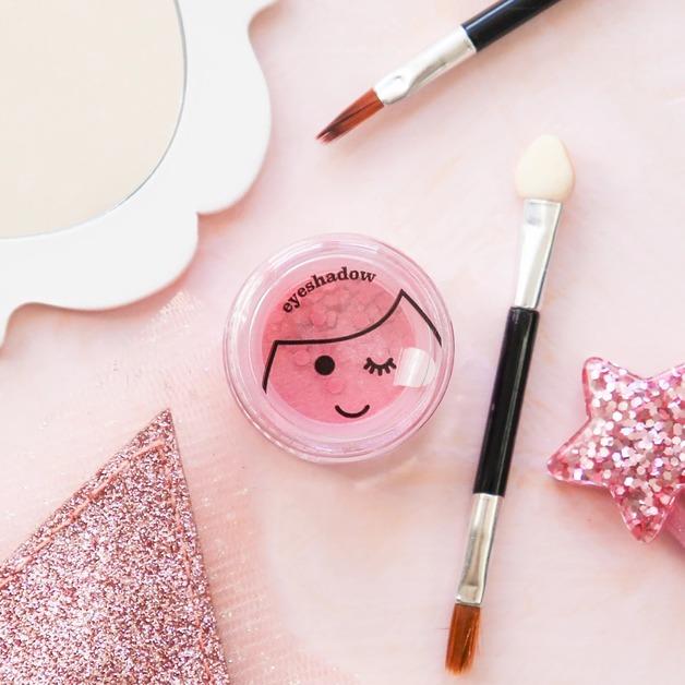 No Nasties: Shimmery Eyeshadow - Pink