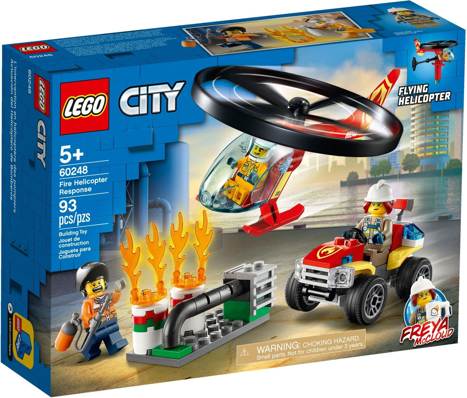LEGO City: Fire Helicopter Response - (60248) image