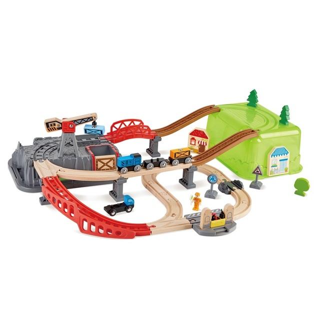 Hape: Railway Bucket - Builder-Set