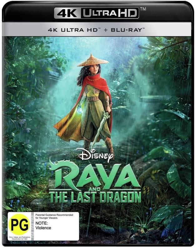 Raya And The Last Dragon (4K UHD + Blu-Ray) on UHD Blu-ray