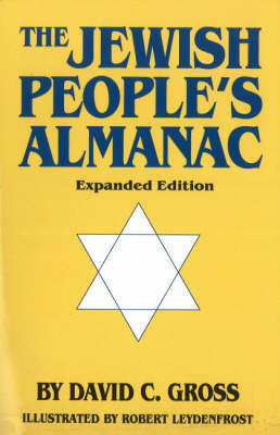 Jewish People's Almanac, Expanded Edition by David C. Gross image