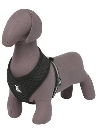 Rufus and Coco Mesh Dog Harness Medium - Black image