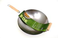 Carbon Steel Stir Fry Pan - 36cm