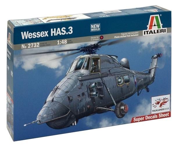 Italeri: 1:48 Wessex HAS.3 - Model Kit