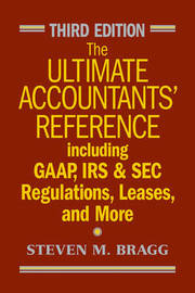 The Ultimate Accountants' Reference by Steven M. Bragg image