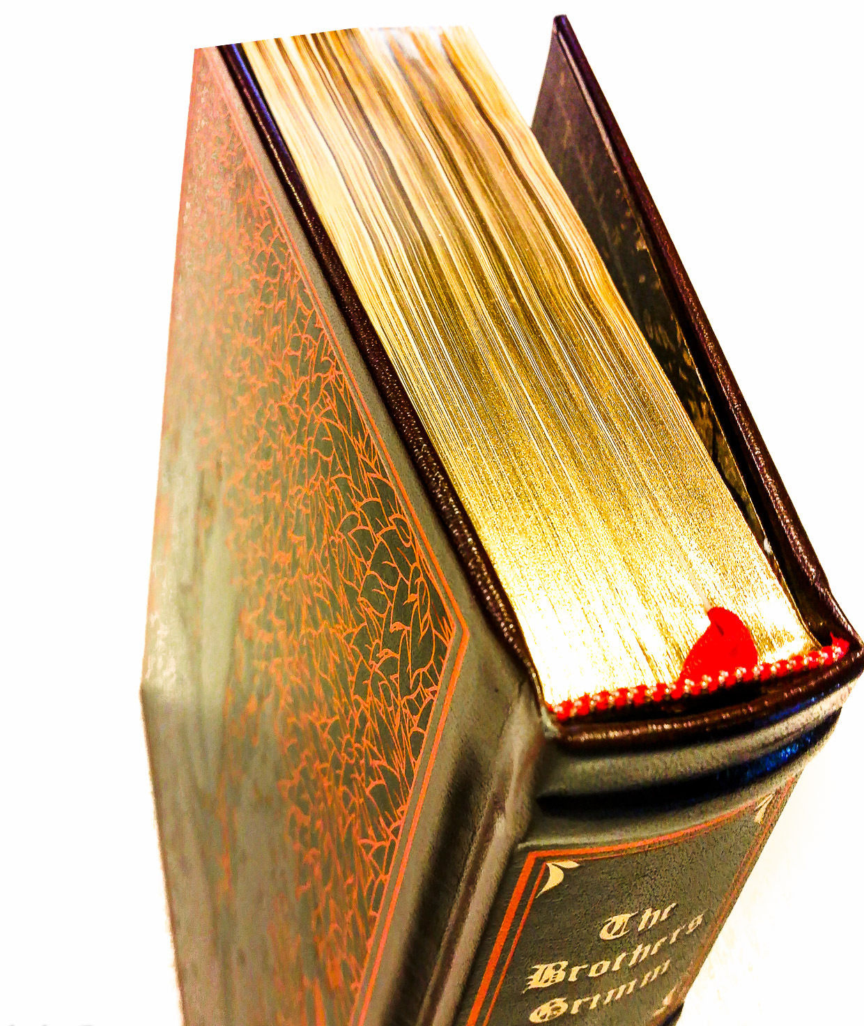 Grimm's Complete Fairy Tales (Leather Bound) by Jacob Grimm image