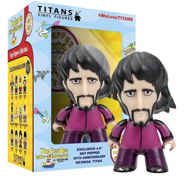 "The Beatles: George Harrison 4.5"" Titans Vinyl Figure"