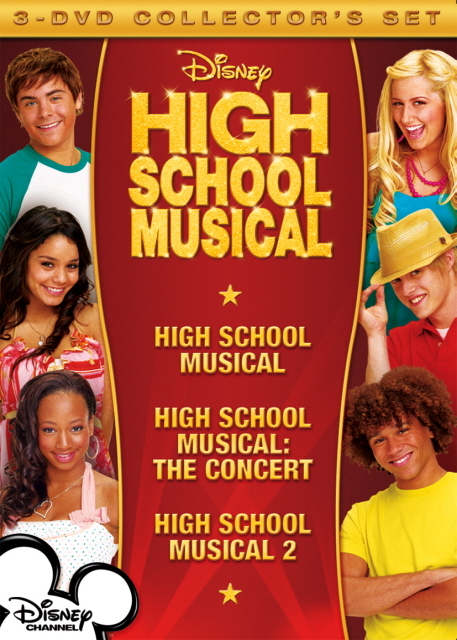 High School Musical - Collector's Set (3 Disc Box Set) on DVD image